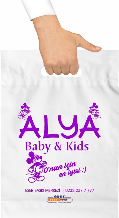 Bebek Mağazaları Baskılı Poşet